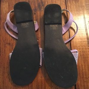 me too Shoes - Purple strappy sandal